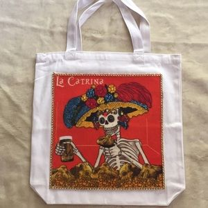 New two-sided Day of the Dead Tote Bag